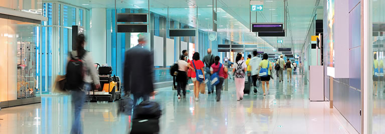 Banishing lines - airports invest in technology for a better passenger experience